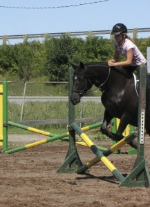 Minx + Shelby jumping