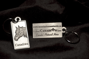 Canadian Horse key chain f&b