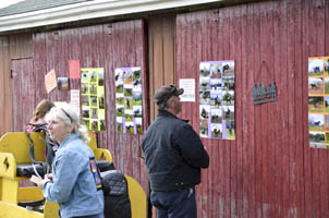 Everyone enjoyed casting their votes to choose photos for our 2014 calendar